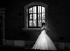 Smartphone enlightenment (Javiralv) Tags: bride smartphone cellphone light blackandwhite poland polonia novia móvil iluminación