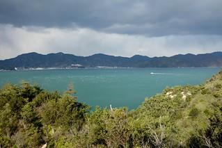View from Okunoshima (Japan)