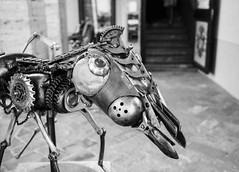 Artwork, Montepulciano. Leica M6, 35mm Summciron ASPH, Fomopan 100 (nickdemarco) Tags: rangefinderchronicles blackwhite film leicam6classic 35mmsummicronasph italy fomopan tuscany