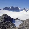 Sulle Alpi al mattino (giorgiorodano46) Tags: agosto1989 august 1989 giorgiorodano trient alpi alpes alps alpen vallese valais wallis montebianco montblanc svizzera suisse schweiz switzerland matin morning analogic ghiacciaio glacier plateaudetrient aiguillesdorées mattino