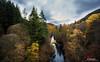 A view North from Garry Bridge, Pitlochry (leeb.black) Tags: river garry tummel tay bridge north scotland autumn trees