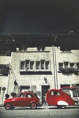 cinquecento (ercan.cetin) Tags: cinquecento 500 fiat auto red strassenfotografie streetphotography strassenfoto street streetphoto panasonic g6 dmcg6