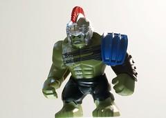 Hulk like Raging Fire (Ben Cossy) Tags: comic ragnarok thor marvel avengers hulk lego