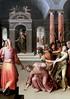 IMG_3743 Henri Lerambert 1568-1608. Paris  Le Christ et la femme adultère. Christ and the adulterous woman. Nantes Musée d'Arts. Ecole de Fontainebleau. School of Fontainebleau