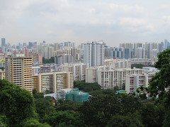 Singapore - Southern Ridges - Mount Faber - View over city (JulesFoto) Tags: singapore southernridges mountfaber skyscrapers towerblocks