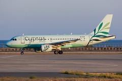 5B-DCW - Cyprus Airways - Airbus A319-114 (5B-DUS) Tags: 5bdcw cyprus airways airbus a319114 a319 lca lclk larnaca larnaka international airport airplane aircraft aviation flughafen flugzeug planespotting plane spotting