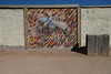 Fence Art (BKHagar *Kim*) Tags: bkhagar mural painting horse bucking riding equine wall fence grandcanyon westrim az arizona cowboy bronco western