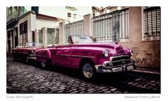 Voiture Lr3 PB1 Rz Rt3 Bd Sg Rd1 (thierrybarre) Tags: automobile cuba rose tuning amérique usa chevy chevrolet deluxe cabriolet belair 1951 1952 1953 lahavane