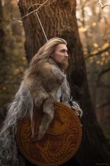 Viking king (Fotografreek) Tags: magnificentportraits dutchphotographer portrait portraitphotographer viking vikings walhalla bestportrait