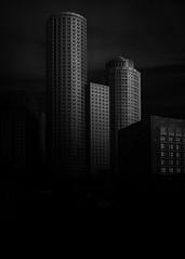 Boston (bprice0715) Tags: canon canoneos5dmarkiii canon5dmarkiii architecture architecturephotography blackandwhite blackwhite bw monochrome mono buildings contrast highcontrast lowkey boston bostonma city urban cityscape urbanexploration darksky dark fineart