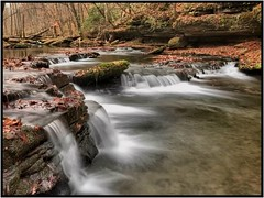 Cascades at Short Creek. (BamaWester) Tags: napg nature bamawester waterfall cascade tullahoma tennessee longexposure creek water