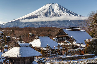 富士山 Fuji-san in winter time