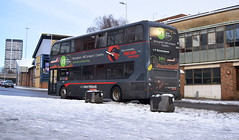 More -1 than X1, 6848 heads to Birmingham (paulburr73) Tags: 6848 birmingham nxwm coventry platinum nationalexpress westmidlands mmc e400 enviro400 adl alexanderdennis x1 servicex1 expressservice winter icy snowy