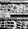 Distortion  12  ...   ; (c)rebfoto (rebfoto ...) Tags: distortion monochrome rebfoto blackandwhite reflections urbanscape bw