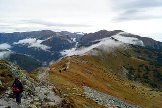 Tatras in the clouds