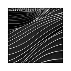 Waves (Jean-Louis DUMAS) Tags: architecture chicago lignes géométrique abstrait architecte architect abstract abstraction art artist artiste artistique bw building bâtiment noiretblanc noir noretblanc vague wave