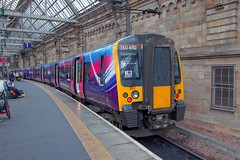 350410 (40011 MAURETANIA) Tags: trains railways scotland class glasgow emu unit electric multiple 350 blue central roof trans penine express tpe transpenineexpress