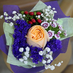 Little bouquet (Yukkuriko) Tags: singapur singapore bearbeitet square blumen blüten flowers blumenstraus bouquet flowerbouquet 花