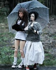 Dollcember Day14 ~ Rain / Snow (PeachyStraw) Tags: doll poupée angelphilia animedoll obitsu vmf50 pinkdrops pinkdropsn°10 pinkdropsn°28 quarantotto yamato arcadia rap realartproject dollcore
