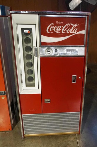 Coke and Pepsi Drink Machines ($1,568.00)
