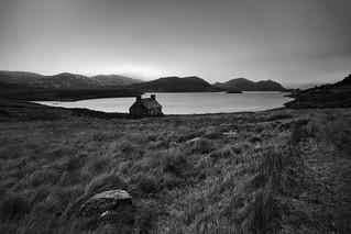 Cottage at Loch Stack