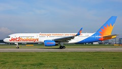 G-LSAE (AnDyMHoLdEn) Tags: jet2 757 egcc airport manchester manchesterairport 23l