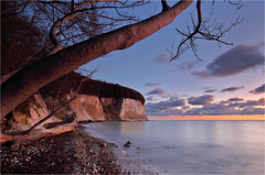 A Morning at the White Cliffs (Sandra OTR) Tags: germany landscape nature rügen mv island vacation fall water baltic sea storm colors trees coast jasmund