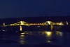 6178 Pont Grog y Borth. (Andy - Tak'n a breever) Tags: bbb bluehour bridge ccc cymru lights menaibridge menaistraits menaisuspensionbridge mmm nightshot nnn northwales pontgrogyborth sss wales www