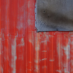 The Warm Up Shack (jtr27) Tags: dscf3763e jtr27 fuji fujifilm fujinon xt20 xtrans vivitar komine 55mm f28 macro manualfocus red building abstract maine newengland