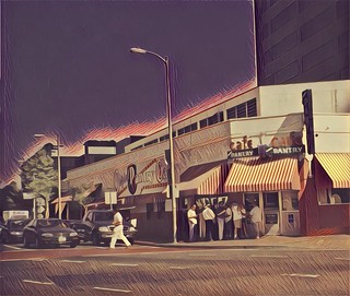Los Angeles  California - Original Pantry Cafe ~ Landmark  - Since 1924 - Vintage Photo