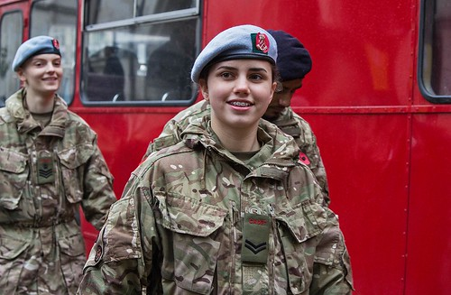 Cadets, Lord Mayor's Show, London, 11 Nov 2017