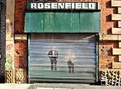 rosenfield (LozHudson) Tags: fujifilm fuji x100s fujix100s manchester street rosenfield streetart