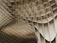 (Explore 15/11/17) (only lines) Tags: metropolparasol grid architecture seville spain