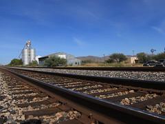 Willcox, Arizona (lars hammar) Tags: railroad traintracks grainelevator willcox arizona