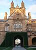 2017 Sydney University: Sunset #1 (dominotic) Tags: 2017 history architecture universityofsydney nsw australia sydney neogothic arch quadrangle stonecarving gargoyle sydneyuniversity edmundblacket sandstoneuniversity universityofsydneycampus