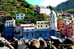 Monterosso Le Cinque Terre La Spezia (oscar.martini_51) Tags: monterosso le cinque terre liguria marer paesaggio colori