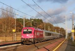5 370 005 (Daniel Wirtz) Tags: 370 pkpic370 pkp 5370005 taurus es64u4 slubice pkpic pkpintercity berlinwarszawaexpress ec44