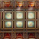 Ceiling of the Great Hall at the Library Of Congress thumbnail