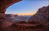 False Kiva (jeanny mueller) Tags: usa southwest canyonlands colorado cave landscape sunset moab