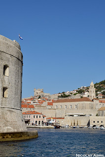Fort St. Ivana and Dubrovnik's Old Port