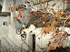 ET's ready to go (Bonsailara1) Tags: bonsailara1 alberobello puglia italy italia trulli architecture arquitectura rústica piedra stone bicicletas bicycle alien scape et