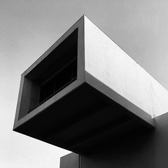 Taipei Fine Arts Museum, Taiwan (gt223) Tags: minimal minimalist minimalism blackandwhite bw modernarchitecture modernism modernist modern concrete artgallery museum taiwan taipei architecturephotography architecture
