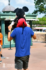 Mickey...Doll? (rook.behr) Tags: disneyworld groups people epcot day bydescription family outdoors boy dad outside