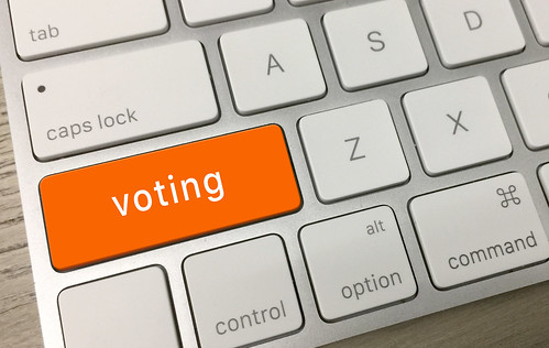 Voting Key by CreditDebitPro, on Flickr