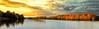 Autumn Sunrise (Trevor Bowling) Tags: autumn sunrise lake clumberpark nationaltrust sky water trees silhouette nikon d3200