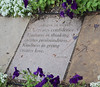 Words of Lao Tzu (RockN) Tags: philosophy lautzu 4th5thcenturybce botanicalgarden cheyenne wyoming august2017