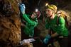 Sampling in Cueva de los Verdes (europeanastronauttraining) Tags: pangaea astronaut training geology geological field planetary analogue exploration volcanism lanzarote lavatube cuevadelosverdes irnas csic