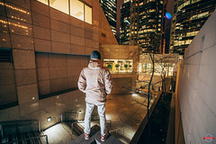 On The Edge (Rob Moses) Tags: nativeamerican tlingit ojibway gotham man guy dude view storm clouds park citypark canon nikon style selfie selfportrait d800e d800 14mmf28 28 filmcamera calgary alberta canada usa flag hat urban city buildings downtown night flash godox v860ii nikkor yyc metro skyline sky architecture citylife modern beautiful pretty uptown condos lights apartments windows skyscrapers skyscraper nightlife explore bigcity innercity street prime longexposure photo photography 14mm superwide ultrawide