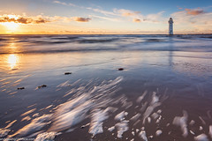 Perch Rock Lighthouse-6 (andyyoung37) Tags: merseyside newbrighton perchrocklighthouse uk sunset wallasey england unitedkingdom gb