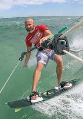 Kitesurf Noumea (Andy.Gocher) Tags: andygocher newcaledonia noumea sea water kitesurf surf